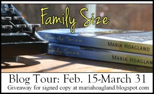 Family Size blog tour banner