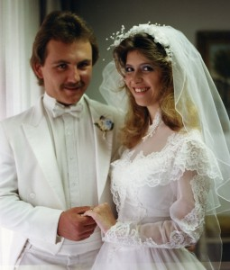 Cindy Bennett wedding photo