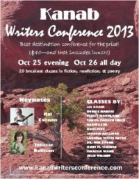 Kanab Writers Conference 2013