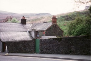 Old Stone House in Wales where Sarah Thomas lived as a child