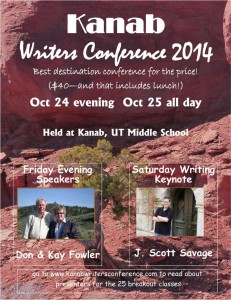 2014 Kanab Writers Conference