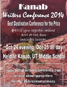 Kanab Writers Conference 2014